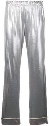 Love Stories metallic pyjama pants