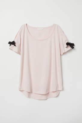 H&M Cotton T-shirt - Pink
