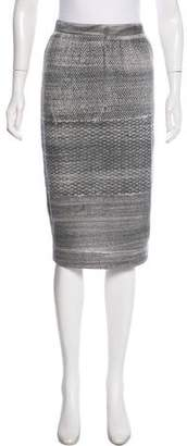Raquel Allegra Patterned Knee Length Skirt