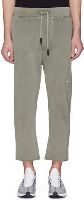 The Upside 'OM' drop crotch panelled sweatpants