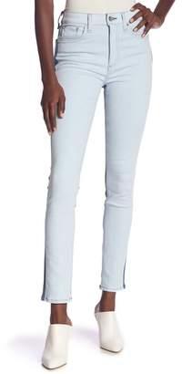 Rag & Bone High Waist Skinny Jeans (Double Blues)
