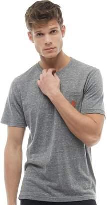 U.S. Polo Assn. Mens York T-Shirt Grey Marl