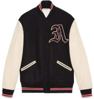 Gucci Bomber jacket with patches