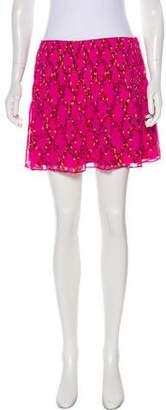 Diane von Furstenberg Floral Print Tayte Skirt