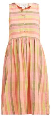 Ace&Jig Rooney Turnaround V Neck Cotton Dress - Womens - Pink Multi