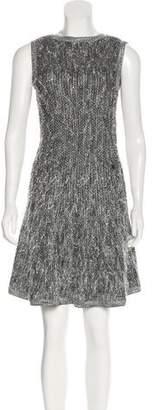 Chanel 2019 Metallic Knit Dress w/ Tags