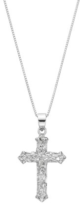 Silver Cross Timeless Sterling Pendant Necklace