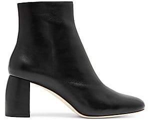 Loeffler Randall Women's Cooper Shaped Heel Leather Bootie