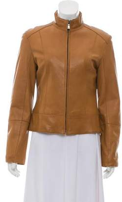 Andrew Marc Leather Moto Jacket