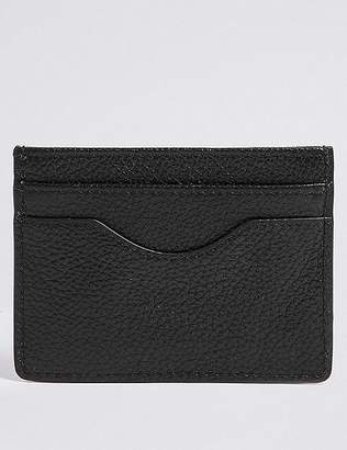 Marks and Spencer Pebble Grain Leather Card Wallet