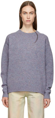 Acne Studios Purple Samara Sweater