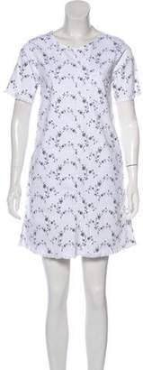 Current/Elliott Floral Fringe-Trimmed Dress