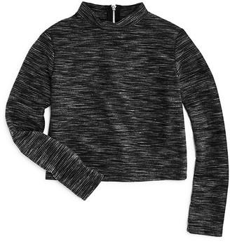 Pinc Premium Girls' Space Dyed Knit Crop Top - Big Kid $52 thestylecure.com