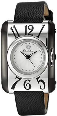 Glam Rock Women's 'Icon' Swiss Quartz Stainless Steel and Leather Casual Watch