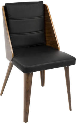Asstd National Brand Galanti Faux-Leather Side Chairs - Set of 2