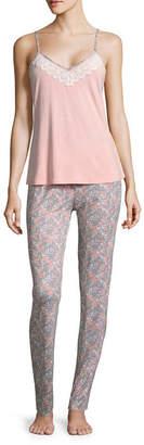Asstd National Brand Daisy Fuentes Pant Pajama Set