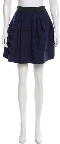 3.1 Phillip Lim3.1 Phillip Lim Tired Mini Skirt