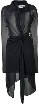 Jacquemus Bellagio midi dress