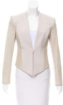 Alice + Olivia Leather Accent Jacket