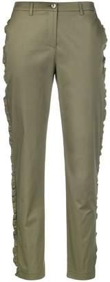Blugirl ruffle-trimmed trousers