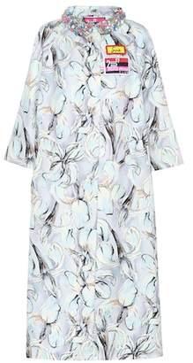 Miu Miu Embellished floral-printed coat