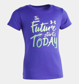 Under Armour Girls' Toddler UA The Future Starts Today T-Shirt