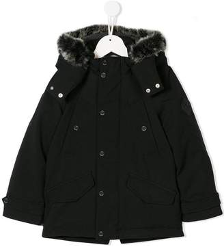 HUGO BOSS hooded parka coat
