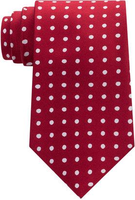 Tommy Hilfiger Men's Printed Dot Tie $65 thestylecure.com