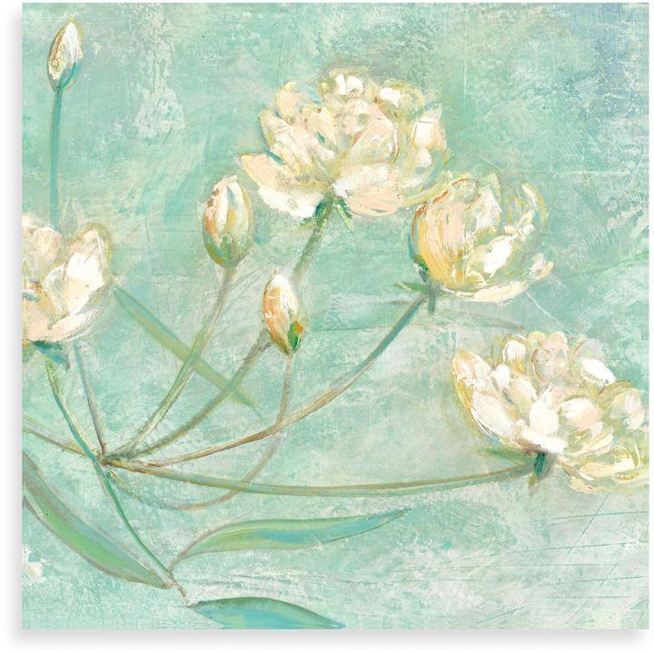 "Bed Bath & BeyondElinor Luna ""Blossoms in Blue I"" Canvas Print"