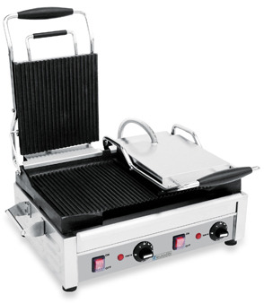 Bed Bath & Beyond Eurodib Double Panini Grill with Ribbed Sides