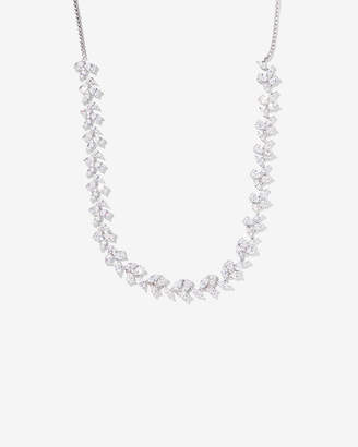 Express Cubic Zirconia Pull-Slide Necklace