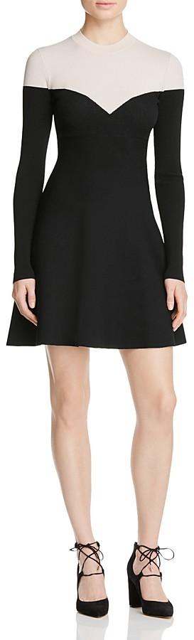 Paule KaPAULE KA Color Block Knit Dress