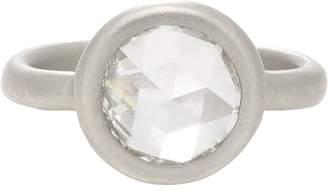 Lee Linda Johnson Women's Diamond & Platinum Casino Rose Ring