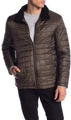 Tumi Faux Fur Quilted Jacket