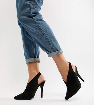 New Look Wide Fit High Vamp Heel Shoe