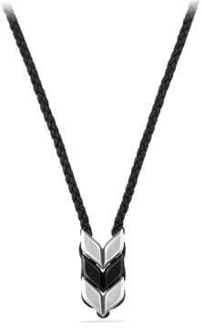 David Yurman Davidyurman Chevron Woven Necklace