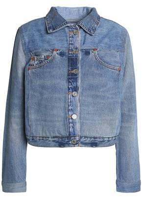 Levi's Re/Done By Distressed Denim Jacket