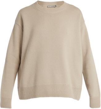 VINCE Crew-neck cashmere sweater $345 thestylecure.com