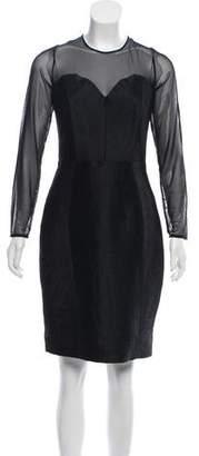 Milly Knee-Length Long Sleeve Dress w/ Tags