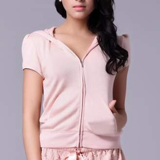Pink Label Sidney Short Sleeve Hoodie