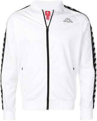 Kappa bomber-style zipped sweatshirt