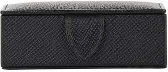 Smythson Panama Mini Cufflink Box