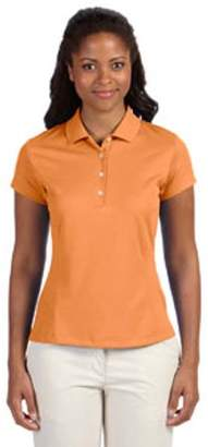 adidas Ladies' climalite Texture Solid Polo
