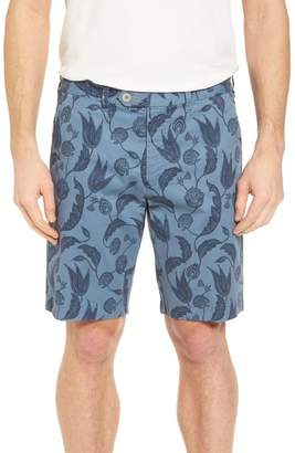 Ted Baker Uniprin Trim Fit Floral Golf Shorts