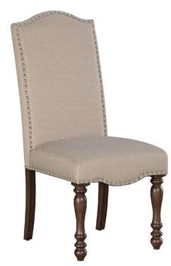 Birch Lane Calila Upholstered Dining Chair (Set of 2)