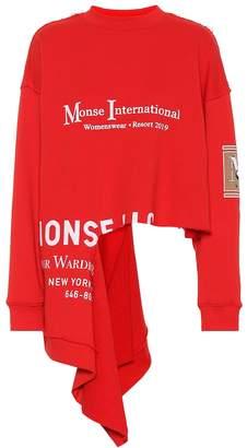 Monse Printed cotton sweatshirt