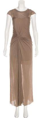 A.L.C. Jersey Scoop Neck Maxi Dress