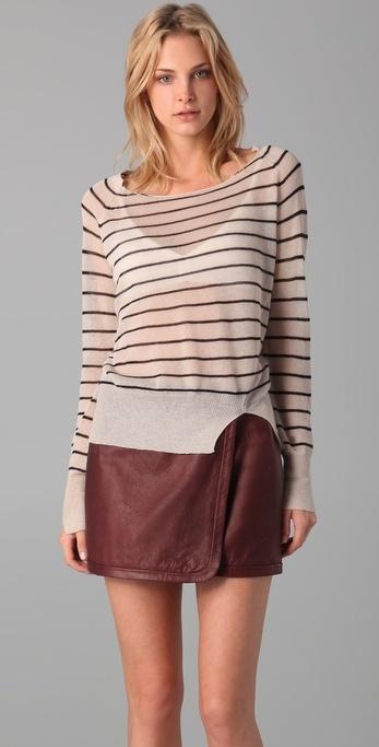 A.l.c. Striped Sweater