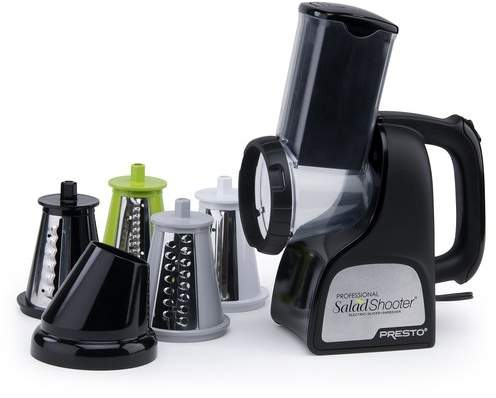 Presto Professional Salad Shooter Slicer/Shredder Food Mill