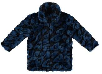 Stella McCartney Gaia Faux-Fur Coat